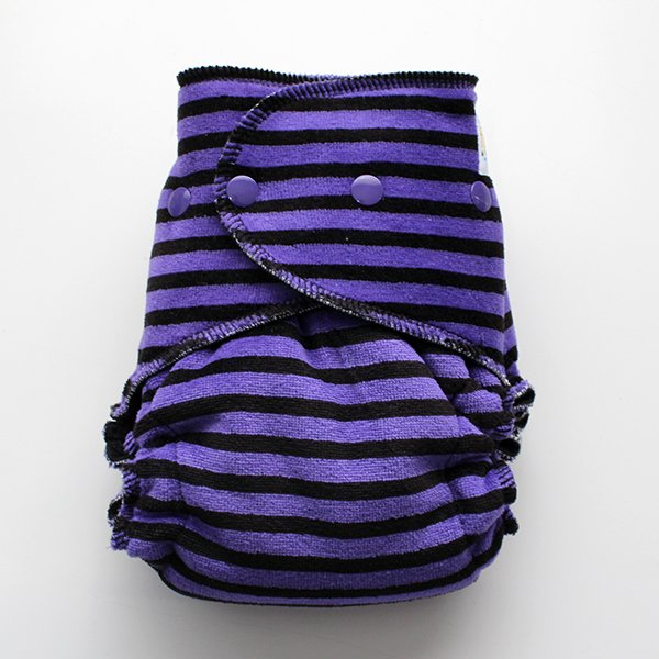 Hocus Pocus Sleepy - [Knit] Serged Size 1.5 - Black Velour