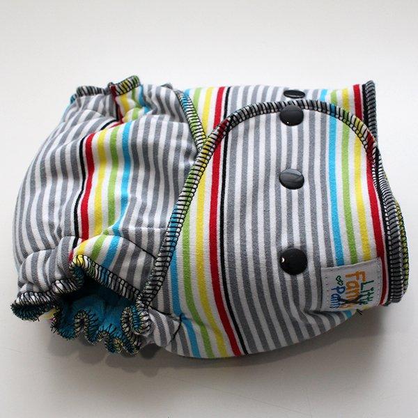 Haze *SECONDS* - [Knit] Serged Size 1.5 - Aqua Velour