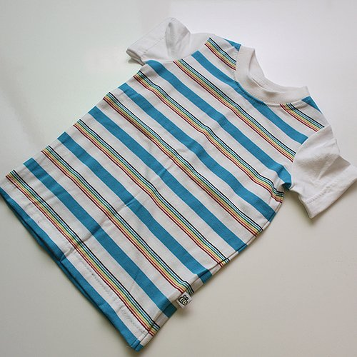 White Sleeved Charlie - Short Sleeve Shirt 2T