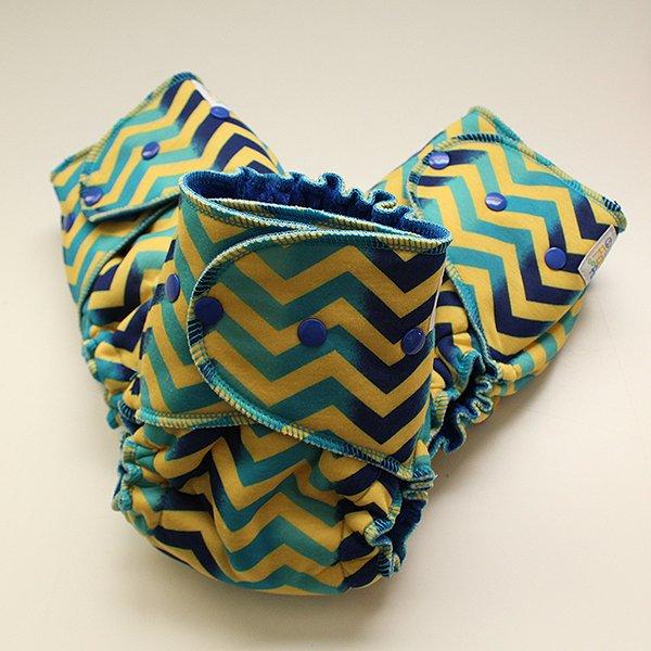 Static - 1.5 Serged - [Knit] Royal Blue