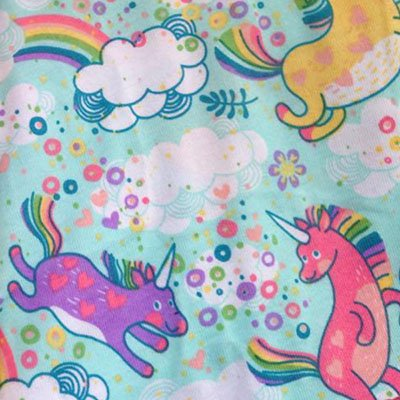 Fluffy Unicorns - Pre-Order - [Knit] Coral Velour
