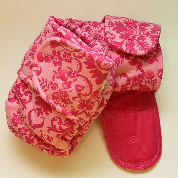 Bella [Knit] - Size 2 - Pink Velour