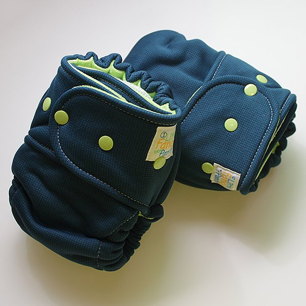 Teal Windpro Sleepy - Size 2 - Lime Velour