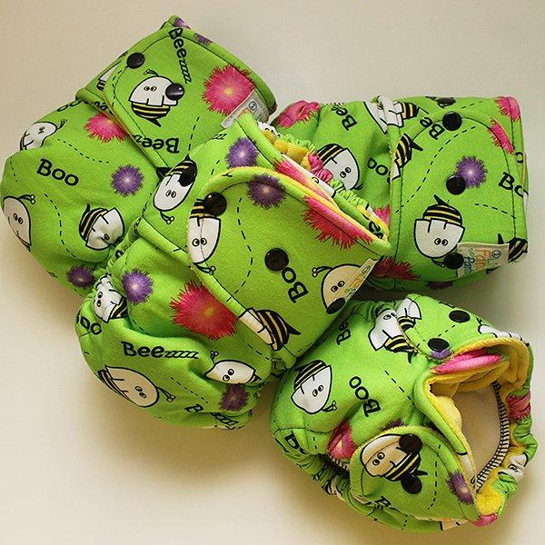 Boo-Beez [Knit] - Newborn - Yellow Velour