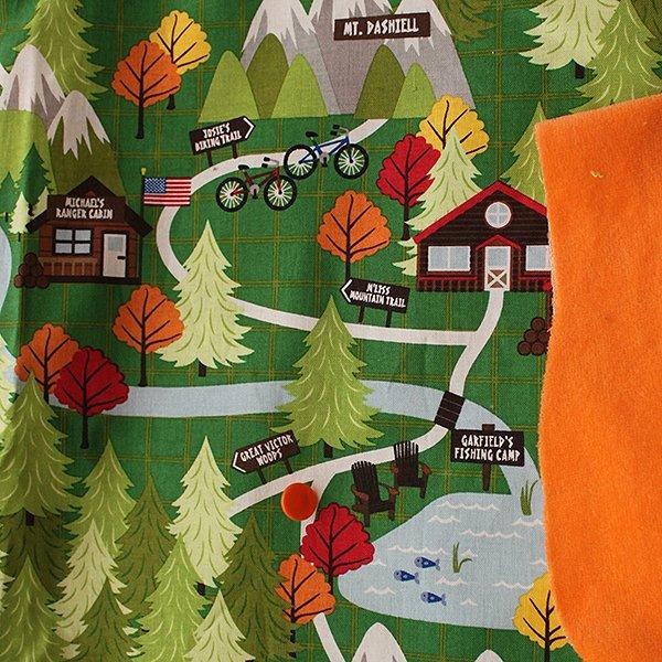 Camp Sight - Pre-Order - [Woven] Orange Velour