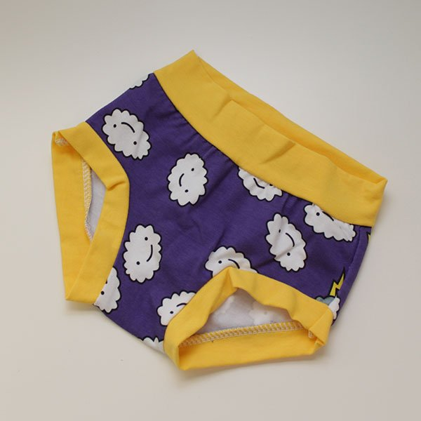 Purple Crankies - 3T Undies