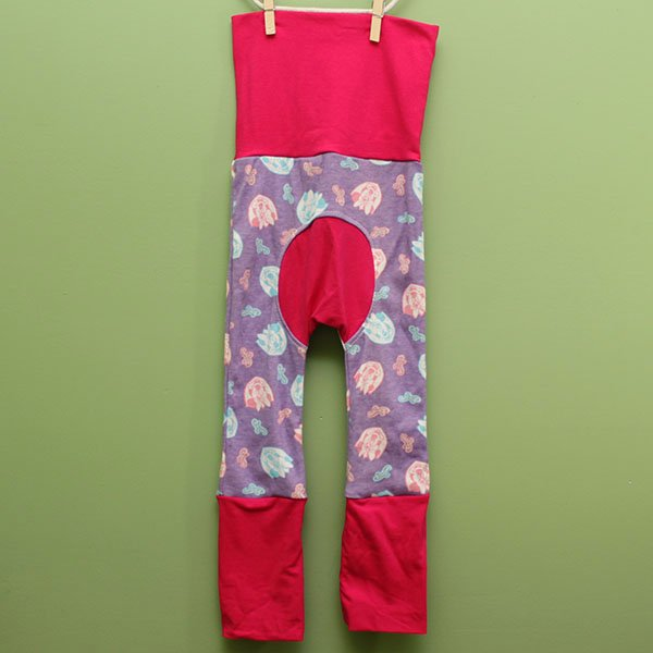 "Love Bums ""Fancy Pants""  - Minnie & Pink (Size 1) with bum circle"